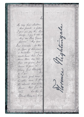 "Записная книжка ""Paperblanks"" Florence Nightingale, Letter of Inspiration Mini Wrap лин."